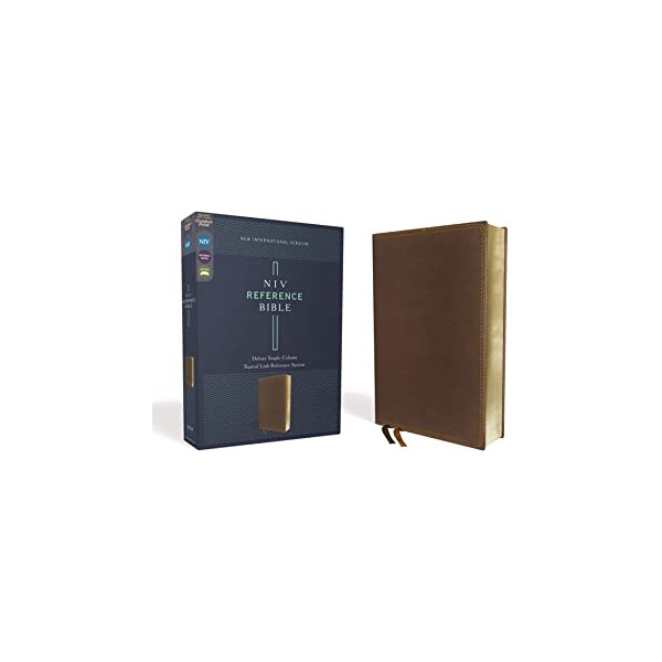 9780310454120 NIV Reference Bible deluxe single-column